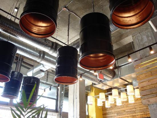 Taylor Gourmet Deli Market: Lighting Fixtures at Taylor Gourmet Deli