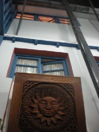 Hostal Arcano: Vista desde la sala de espera