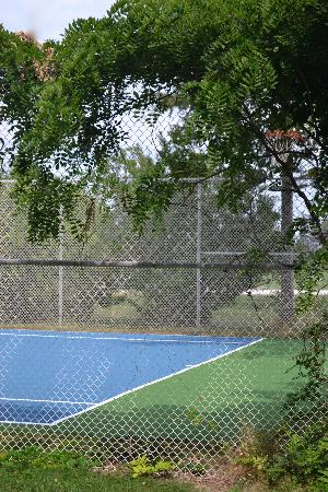 Suburban Motel: Tennis Court