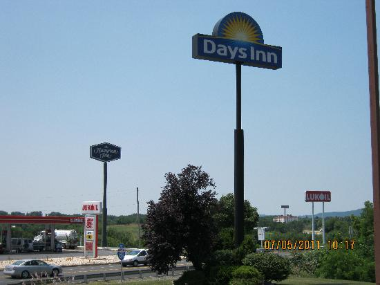 Days Inn Grantville : View from the back