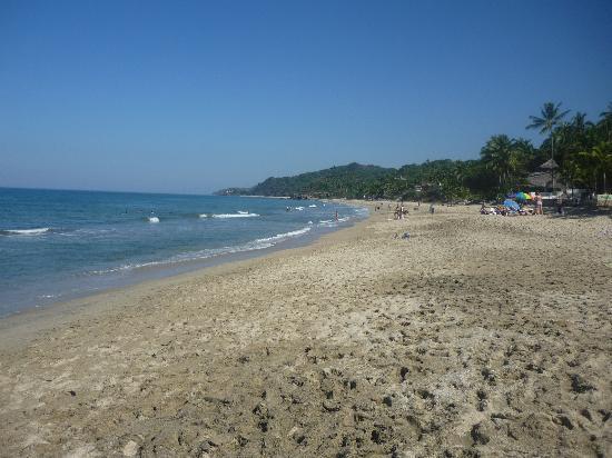 Hotel Las Graditas: the beach!