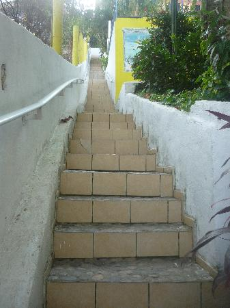 Hotel Las Graditas : Stairs going up to our room