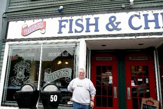 Brits Fish and Chips : Front of Brits