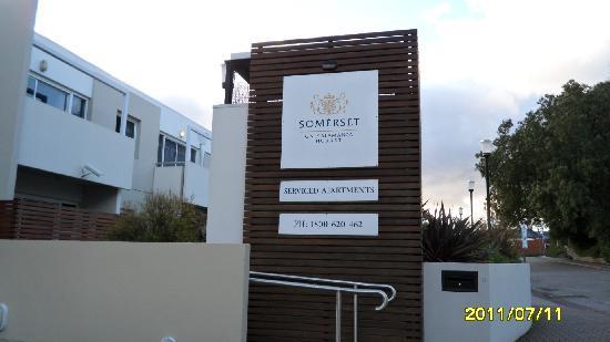 Somerset on Salamanca, Hobart: Outside the hotel