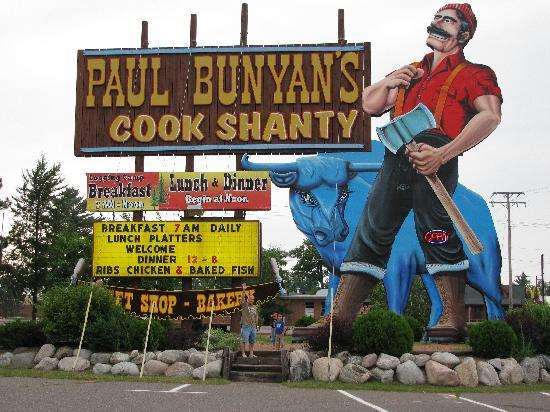 Paul Bunyan S Cook Shanty Ger Than