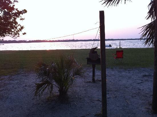 Fort de Soto Park Campground: Another view.