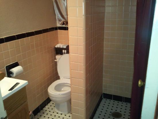 The B Inn: The entire bathroom