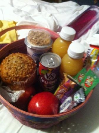 The B Inn: Breakfast basket!