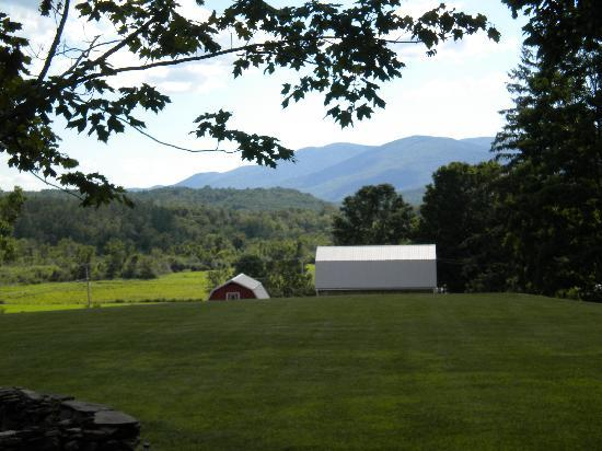 North Shire Lodge & Mountain View Pub: The view from our back door
