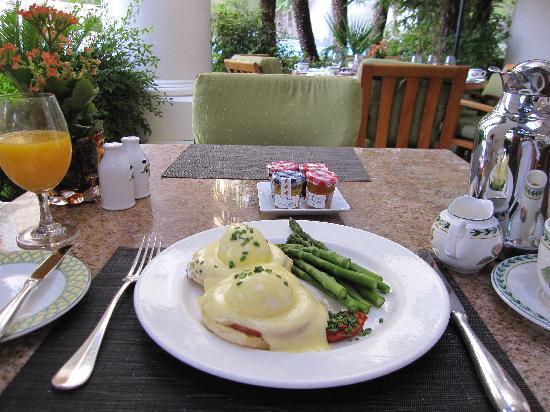 Four Seasons Hotel Las Vegas: 朝食 美味しかったです。