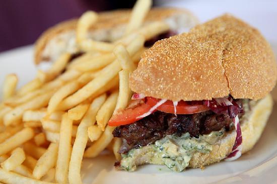 Gaucho's Argentinian Restaurant : Tasty burger
