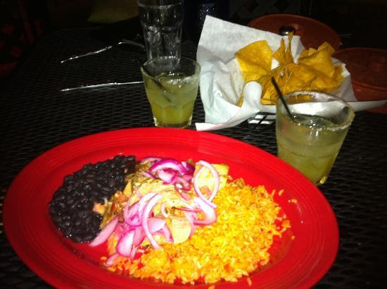 Guaymas: dry bland carnitas, terrible black beans, tasted like water. Can find much yummier and better va