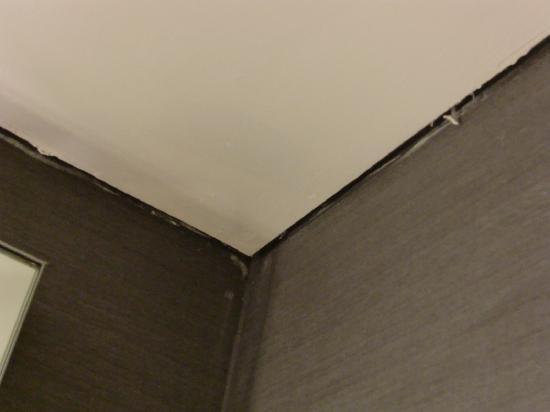 Rixos Konya: 天井と壁に隙間が