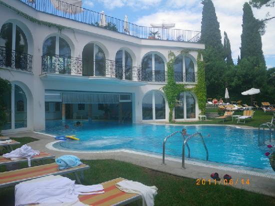 Croatia: Opatija: Hotel Miramar Hotel - pool