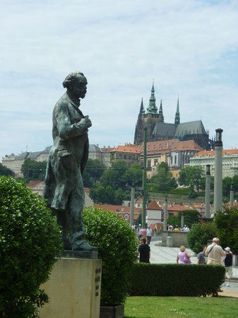 SANDEMANs NEW Europe - Prague: View of the Palace from across the river