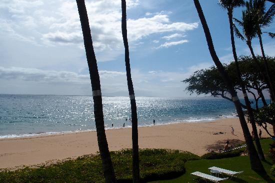 The Hale Pau Hana: The beach from unit 22