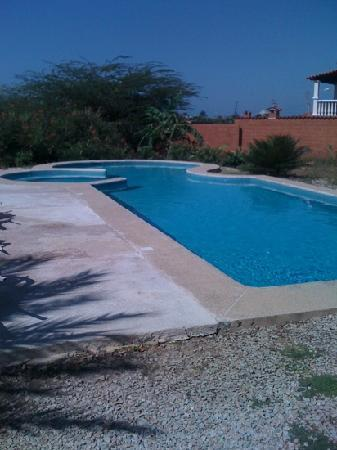 Posada Yemaya: la piscine