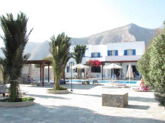 Front of Villa Clio