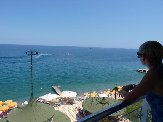 Yelken Blue Life Spa & Wellness Hotel: sea view, from hte room balcony