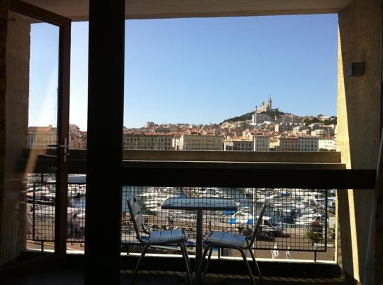 Hôtel La Residence du Vieux Port: vue depuis la chambre