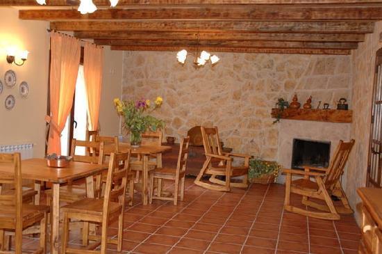 Casa Rural Casa Blas: salón - comedor