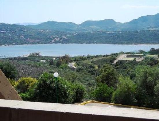 Cugnana Verde, Italie : panorama dalla terrazza dell alloggio
