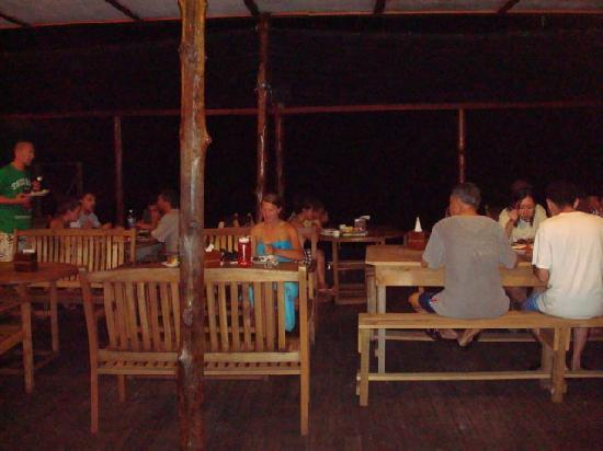 Uncle Chang's Sipadan Mabul Dive Lodge: Dinner