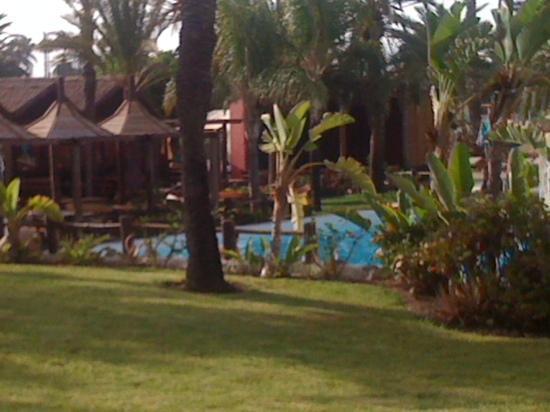 HL Miraflor Suites: jardin bar piscine bungalow miraflor