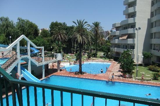 Benal Beach Complex: pools