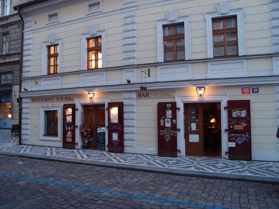 Rilke Restaurant : La façade