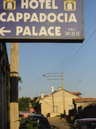 Cappadocia Palace: Tucked away on a side street in the middle of town.