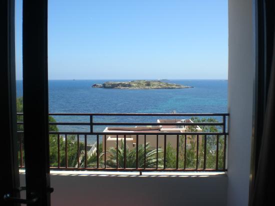 Poseidon I Apartments: Dal balcone