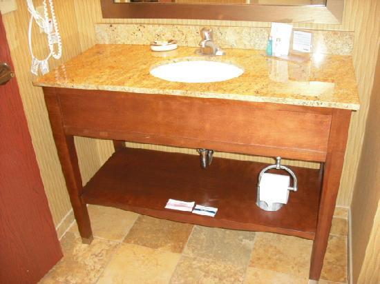 Hampton Inn and Suites Cleveland Southeast Streetsboro: Bathroom vanity