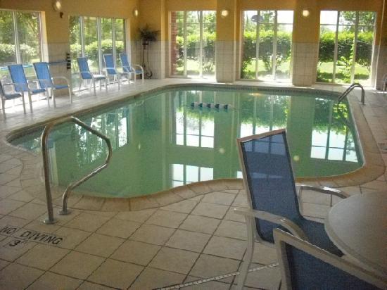 Hampton Inn and Suites Cleveland Southeast Streetsboro: Indoor pool