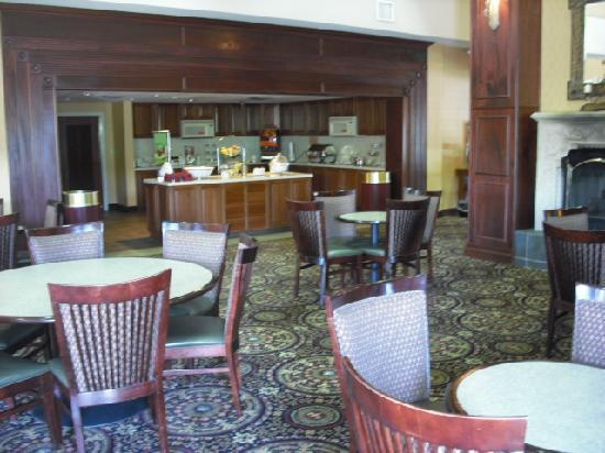 Hampton Inn and Suites Cleveland Southeast Streetsboro: Breakfast area