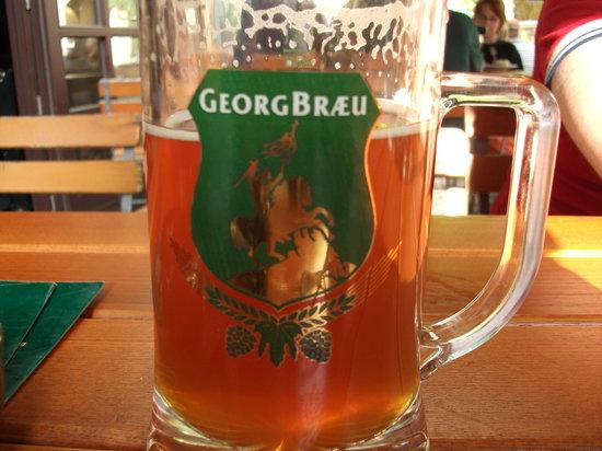 Brauhaus Georgbraeu : Una pinta di birra alla Georgenbraeu