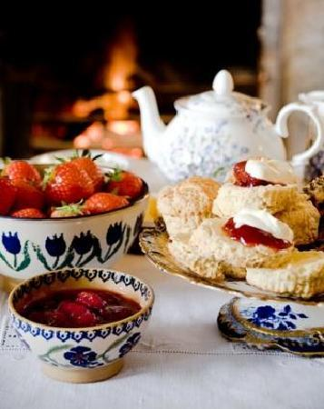 Strawberry Cream Tea at Mornington House