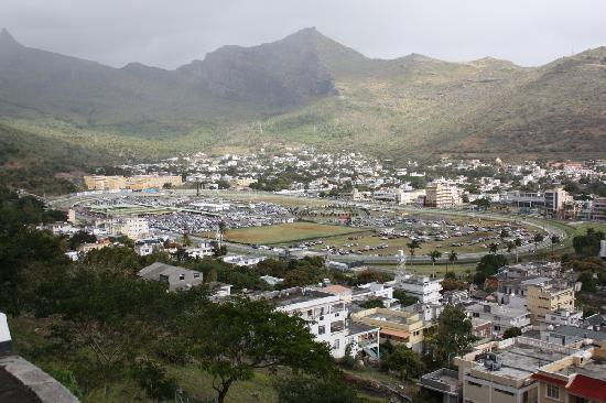 Port Louis: View taken from the Citadel