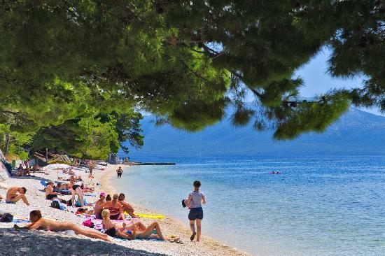 Gradac, Croacia: Beach