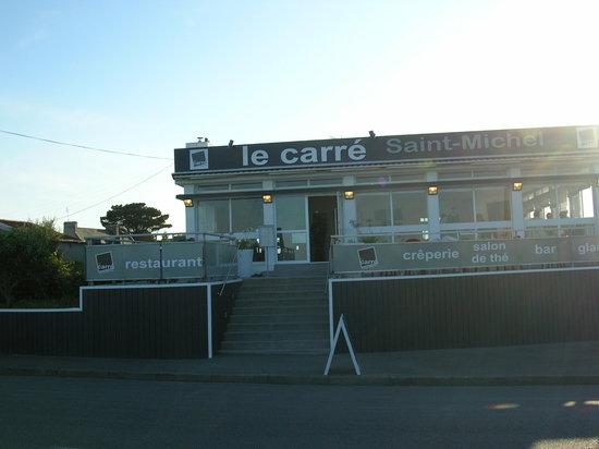 Le Carré St Michel : Accès au restaurant
