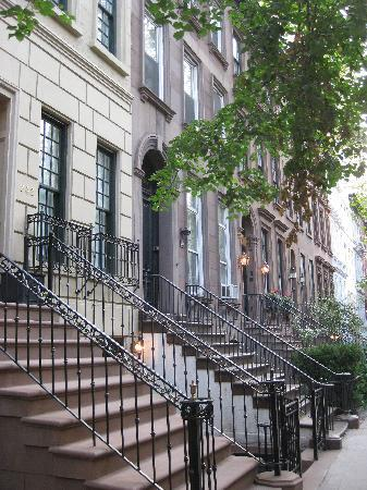 The Bentley Hotel: Quartiere residenziale dove si trova l'hotel