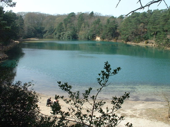 Furzebrook, UK: Blue Pool Dorset