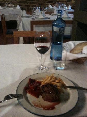 Restaurante Matxete: Rinderfilet der besonders leckeren Sorte und dazu dieser feine Paprika
