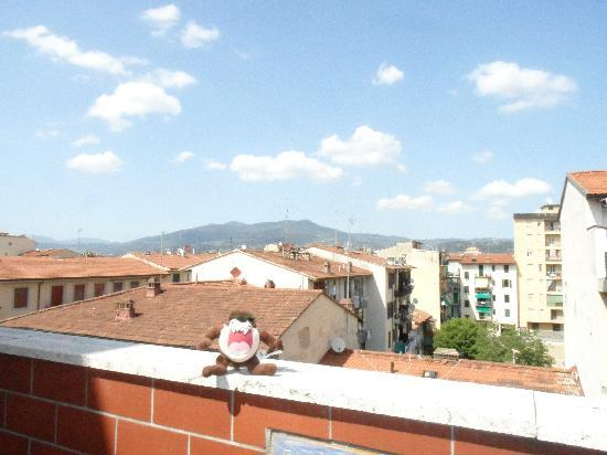 Il Grillo di Firenze: View from the Roof Terrace