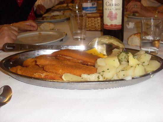 Viella, สเปน: segundo plato