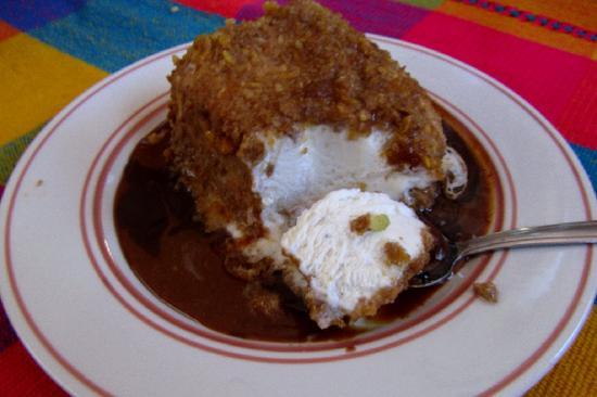 Jane Butel Cooking School: Fried Ice Cream
