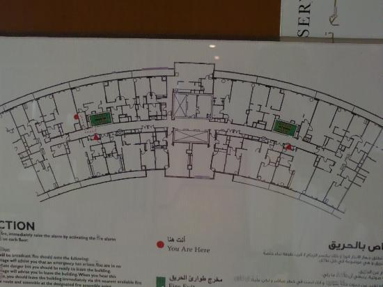 Floor Plan Picture Of Intercontinental Residence Suites Dubai