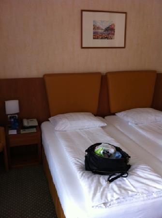 Hotel Delfino: unser Zimmer