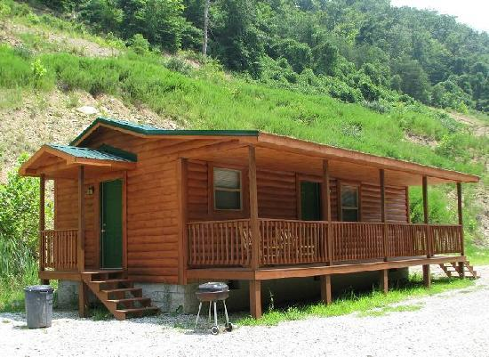 2 Bedroom Cabin - Picture of Harlan Campground, Cabin, & Kayak ...