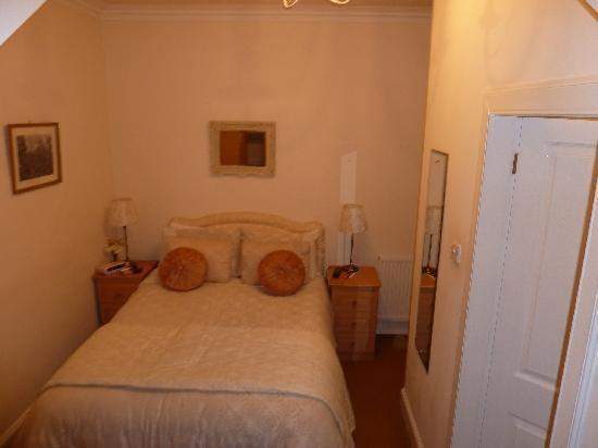 Craigpark House: unser Zimmer (das kleinste Zimmer von insgesamt 3)